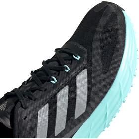 adidas SL20.2 Shoes Women core black/silver metal/clear aqua